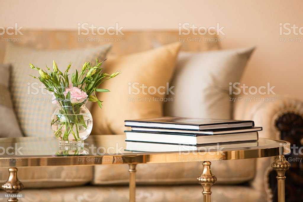 Modern home appartment interior stock photo