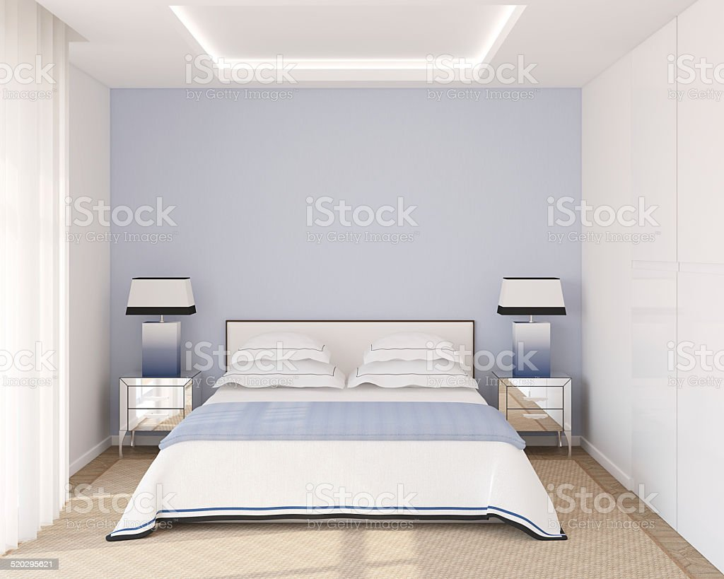 Modern home interior stock photo