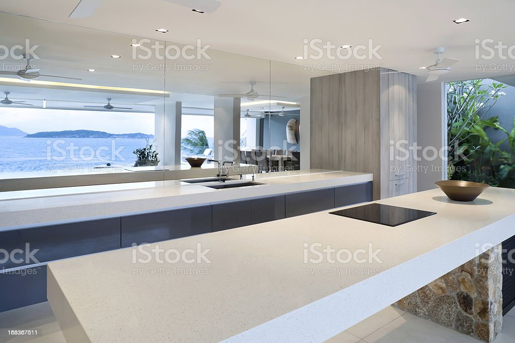 Modern Home Kitchen royalty-free stock photo