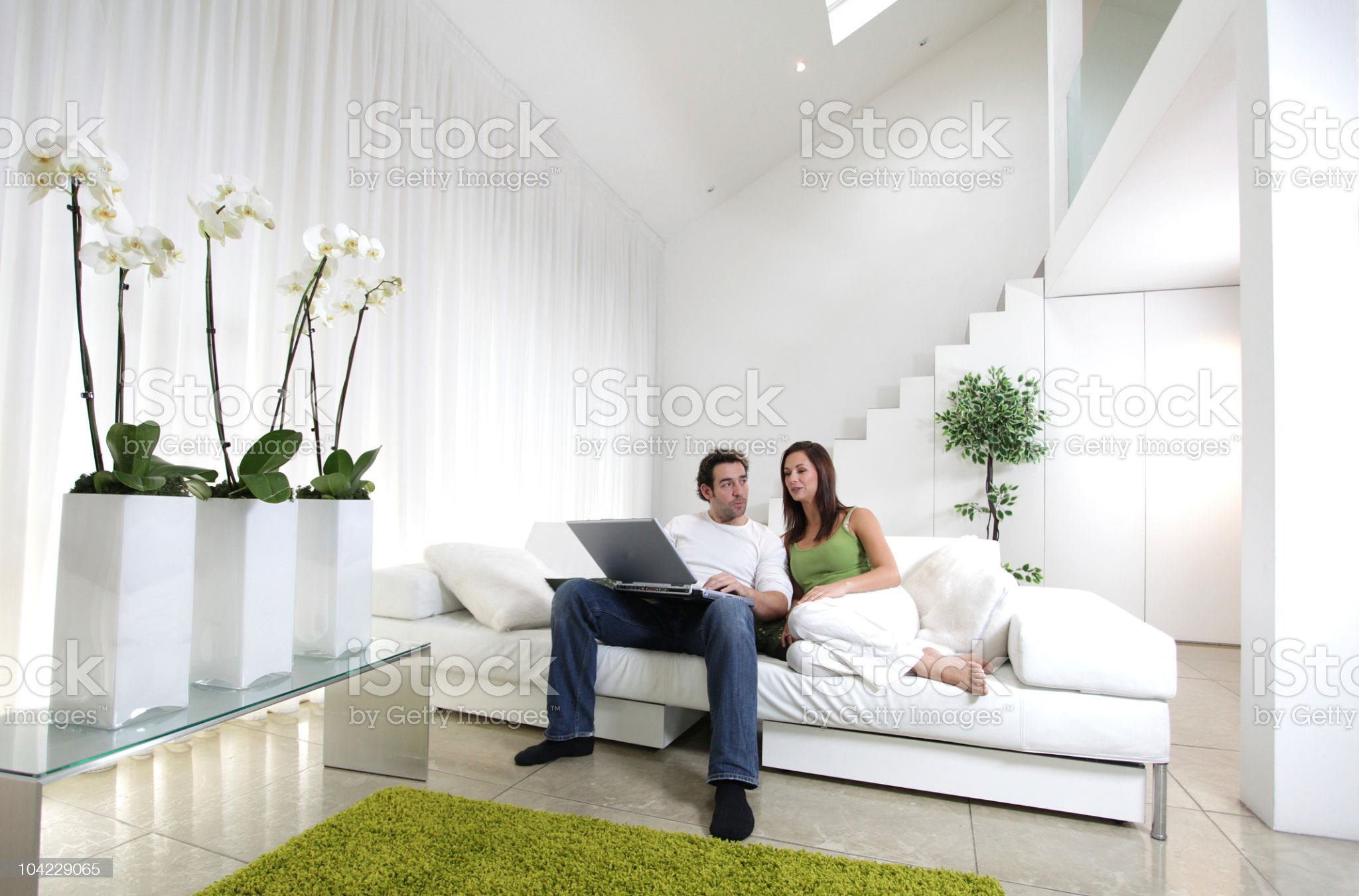 Modern home lifestyle royalty-free stock photo