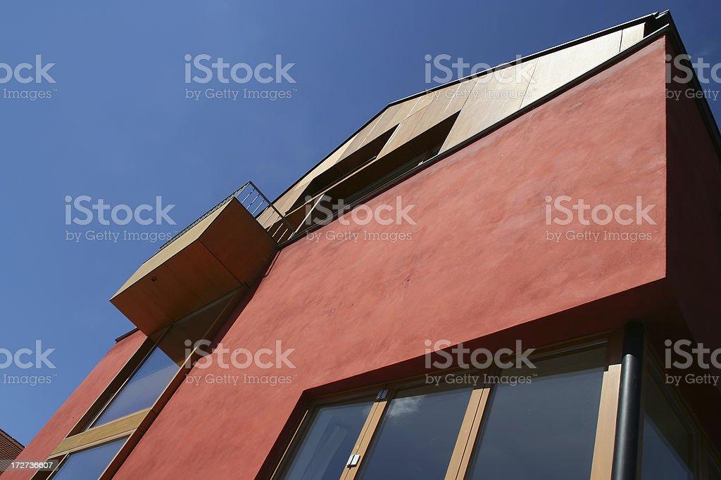 Modern Home royalty-free stock photo