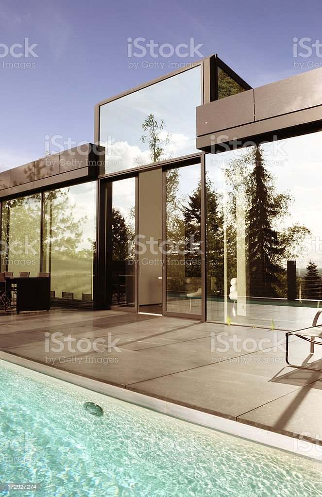 modern home royalty-free stock photo
