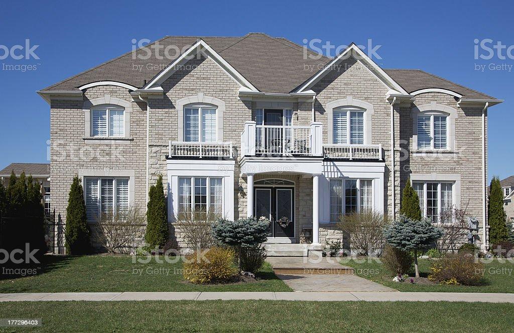 Modern Home stock photo