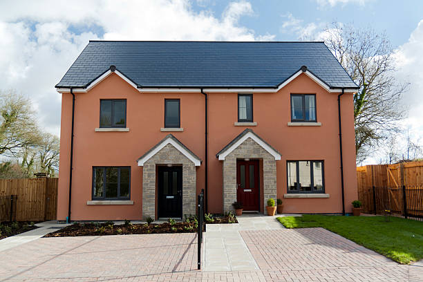 Semi Detached House Pictures Images And Stock Photos Istock