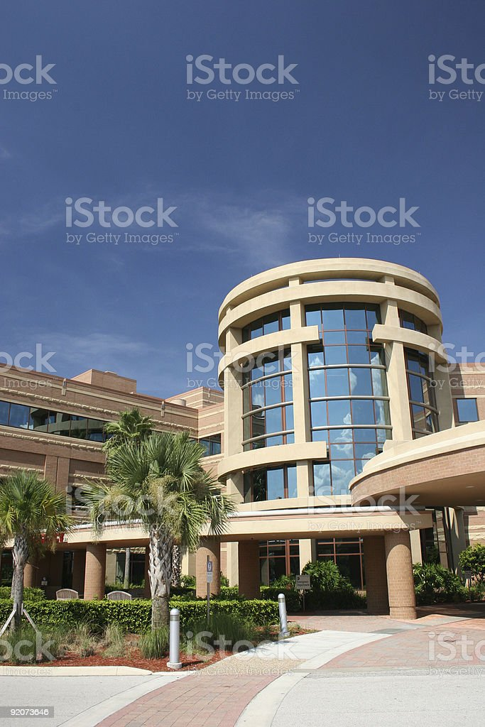 Modern Hospital royalty-free stock photo