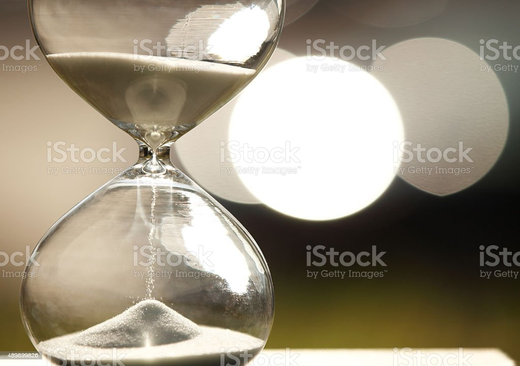 Modern Hourglass stock photo