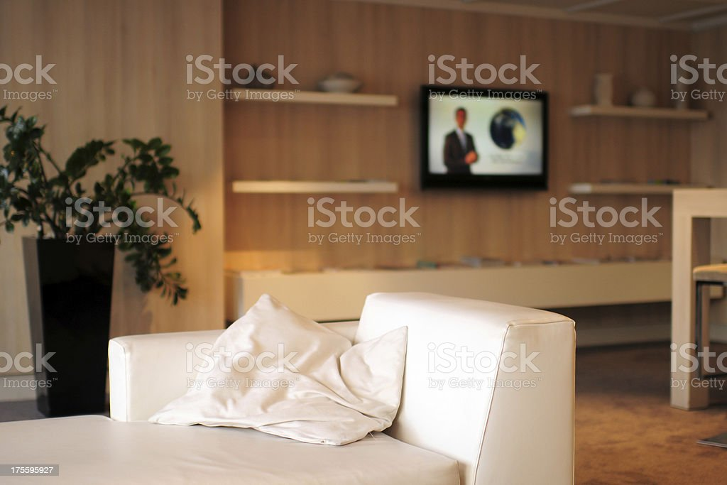 Modern House and Living Room - XLarge stock photo
