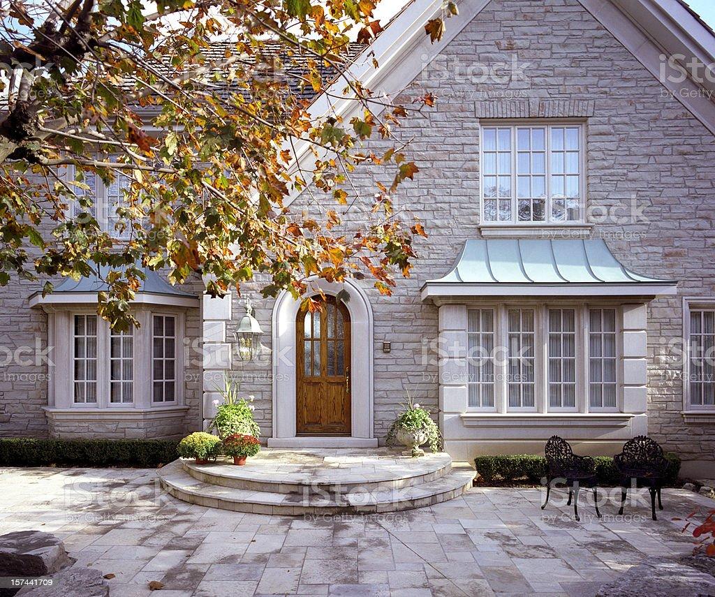 Modern House Exterior stock photo