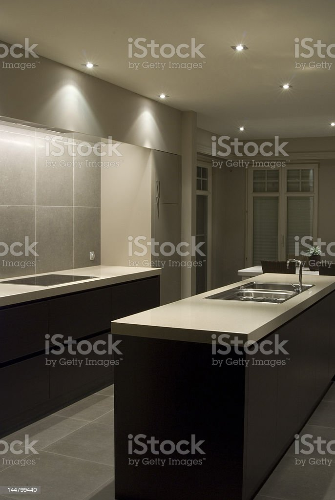 Modern house interior royalty-free stock photo