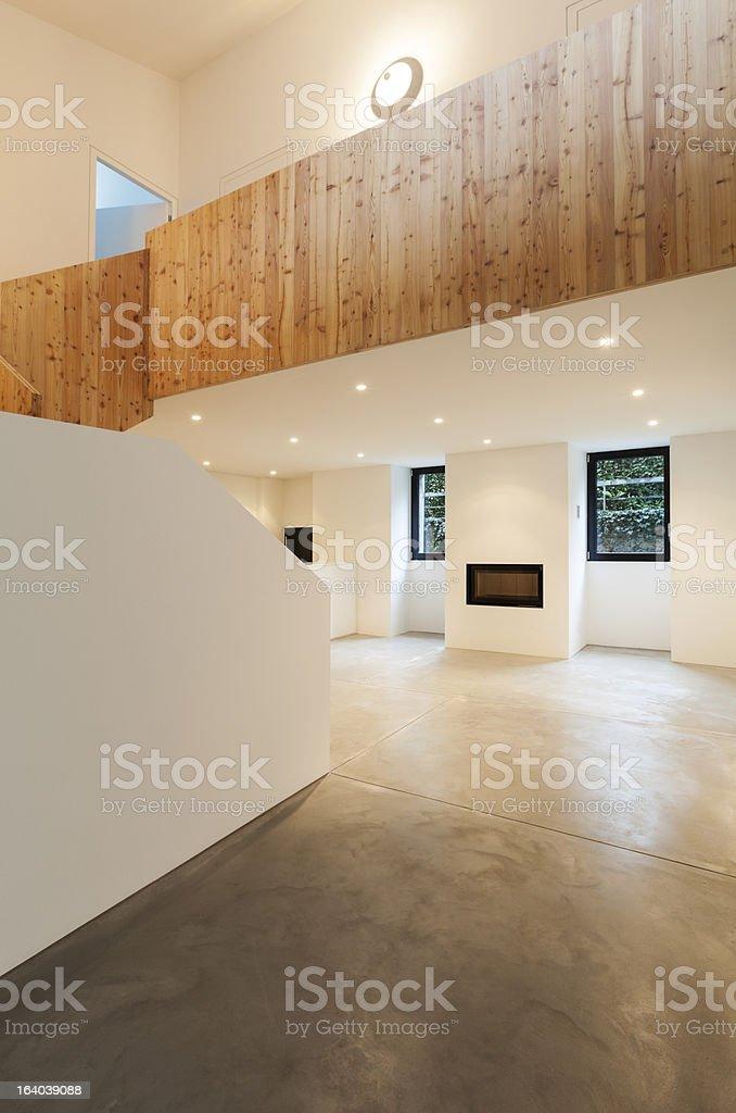 modern house interior royalty-free stock photo
