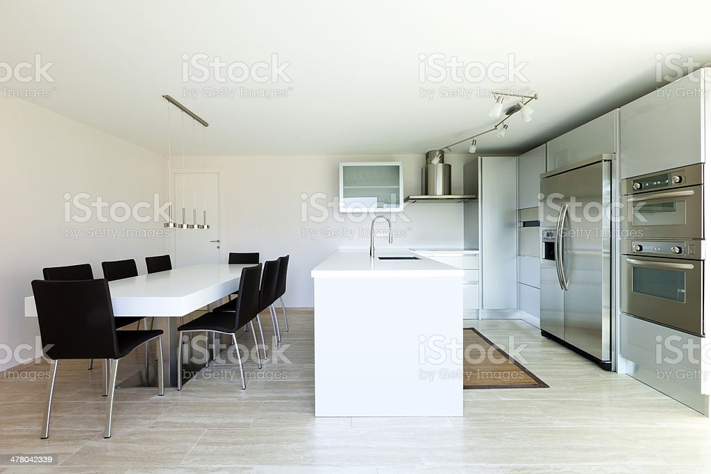 Modern house, interior royalty-free stock photo