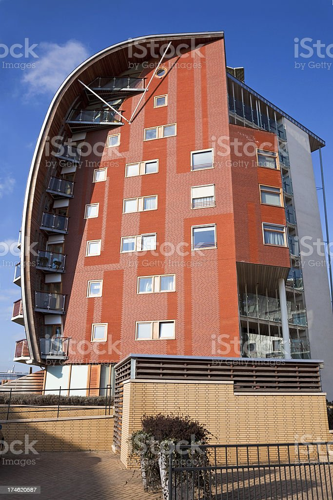 Modern house XXL stock photo
