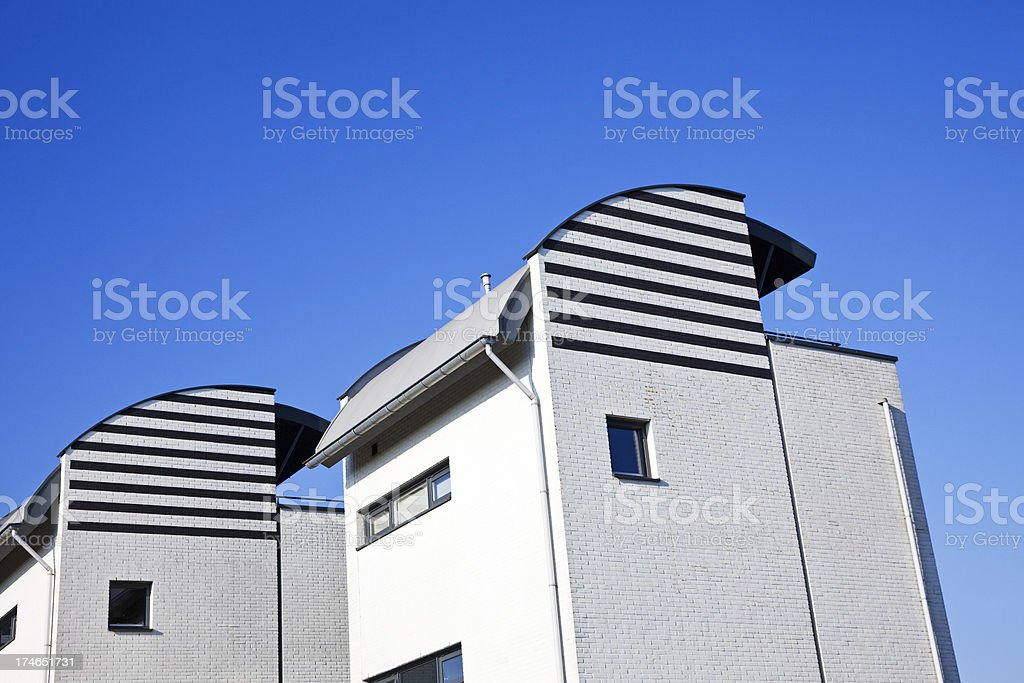 Modern houses # 4 XXL royalty-free stock photo