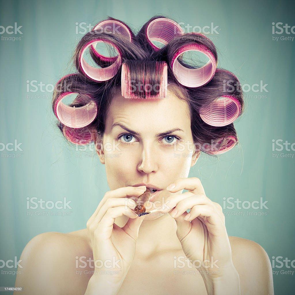 Modern Housewife stock photo 174958579 iStock