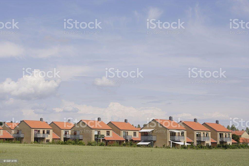 Modern housing - 1 royalty-free stock photo