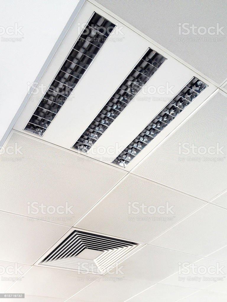 Modern Indoor Ceiling stock photo