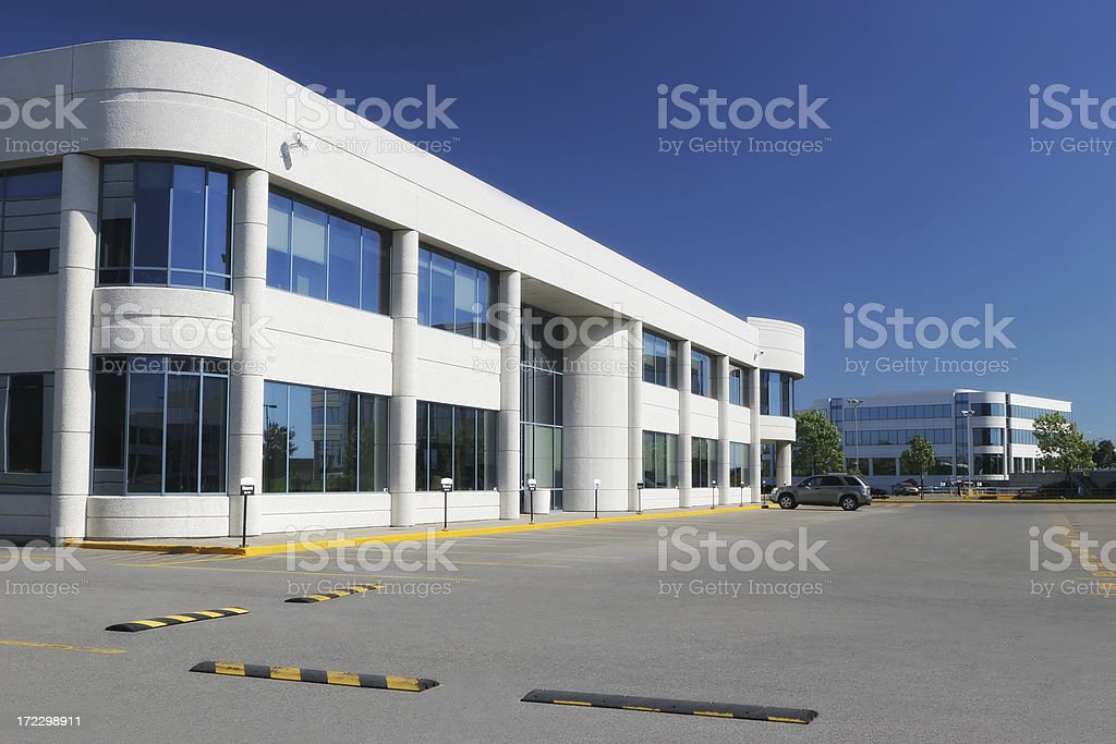 Modern Industrial Buildings royalty-free stock photo