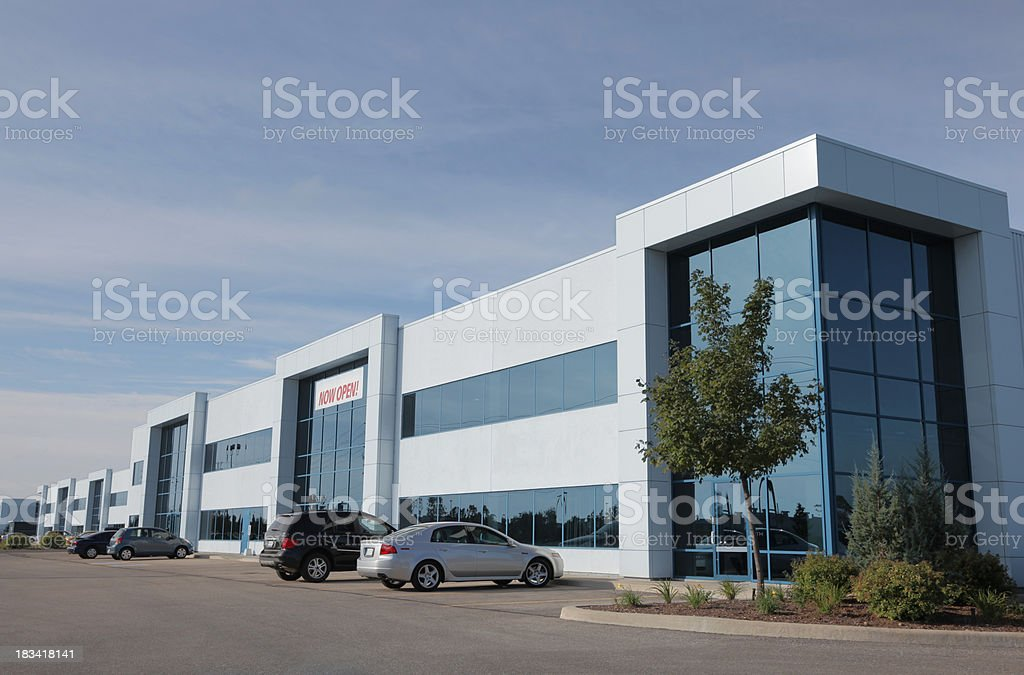 Modern Industrial Condominiums royalty-free stock photo
