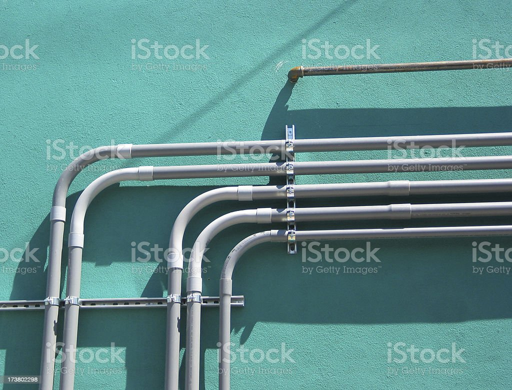 Modern Industrial stock photo