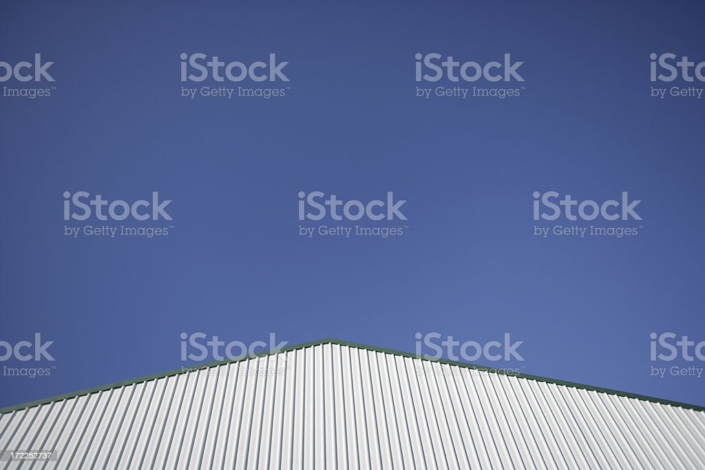 Modern Industrial Shed royalty-free stock photo