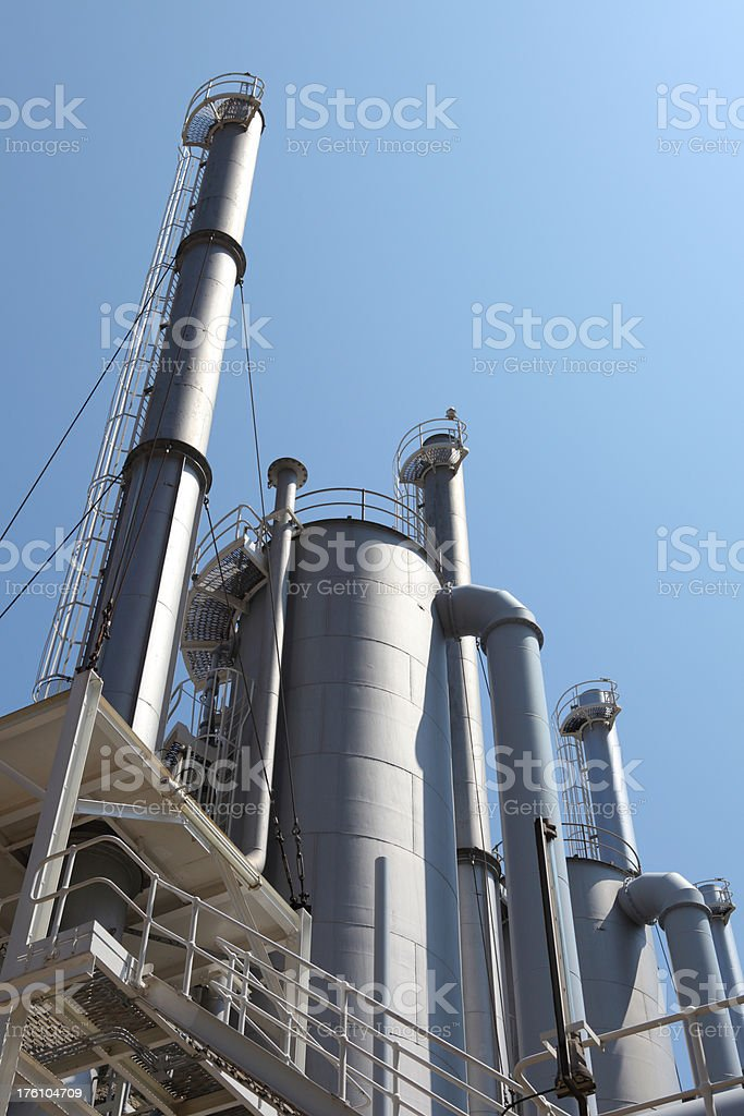 Modern Industry (XXXL) royalty-free stock photo