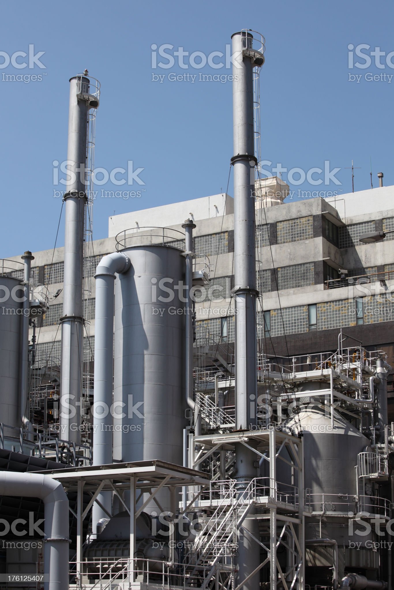 Modern Industry (XXXL) royalty-free stock photo