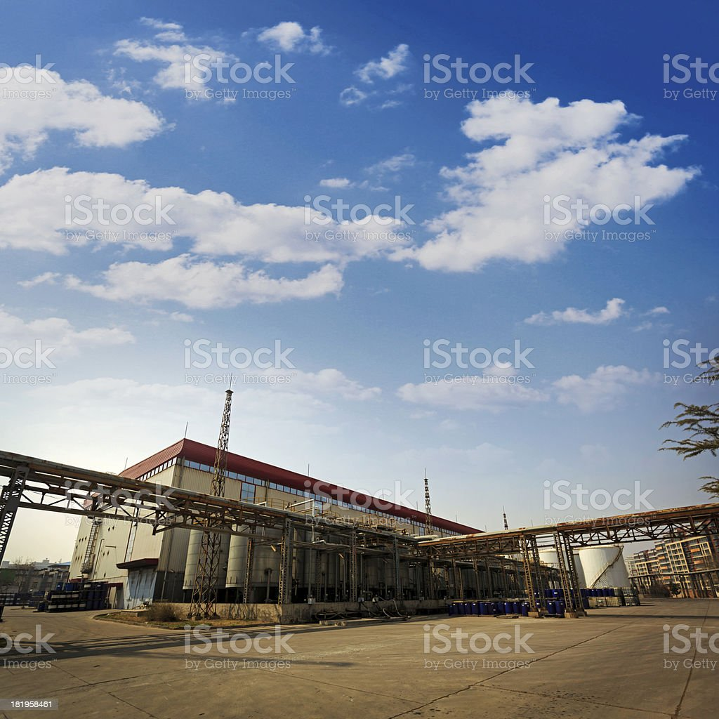 Modern Industry stock photo