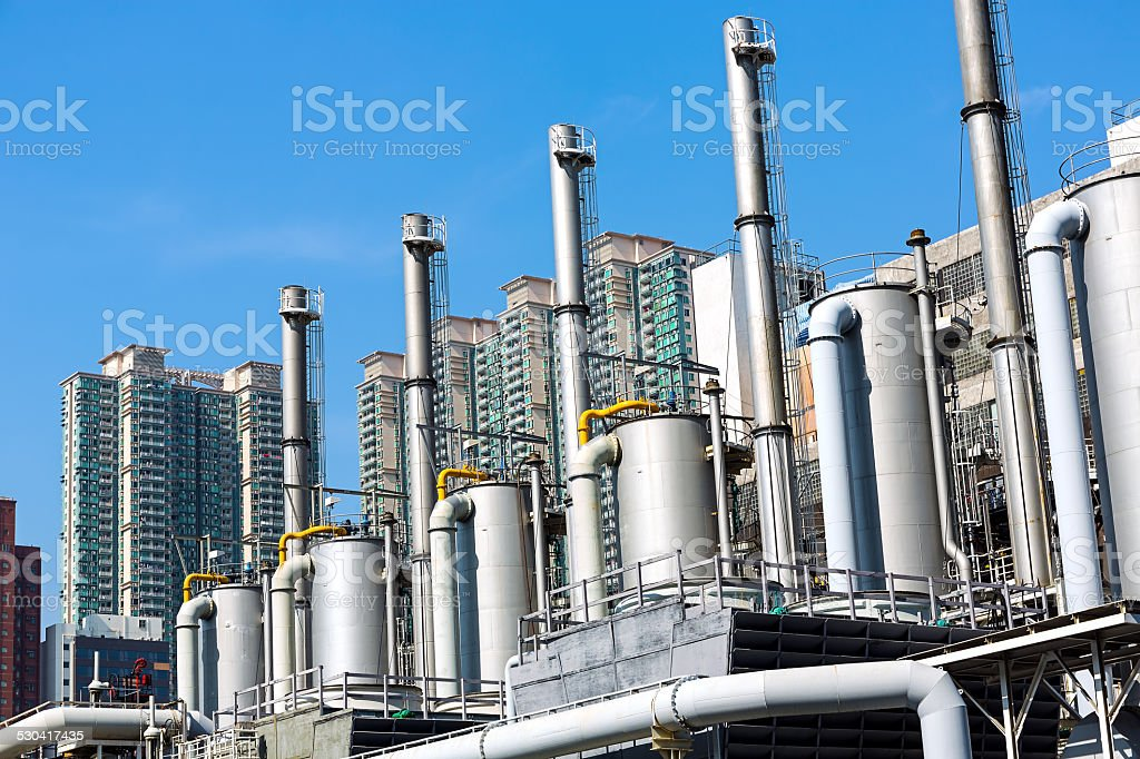 Modern Industry stock photo