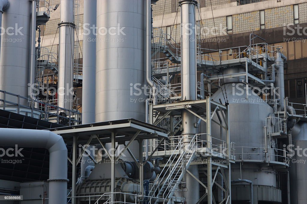 Modern Industry royalty-free stock photo