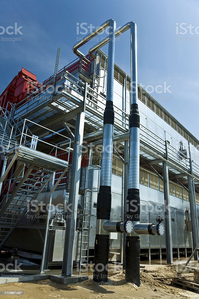 Modern Industry Plant royalty-free stock photo
