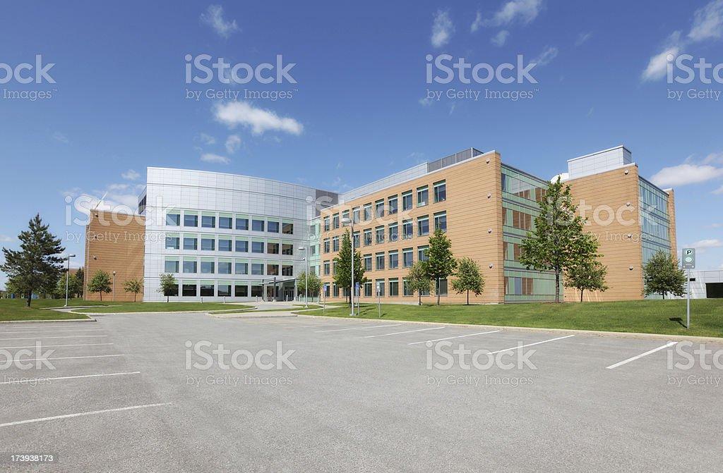 Modern Institute Building Exterior stock photo