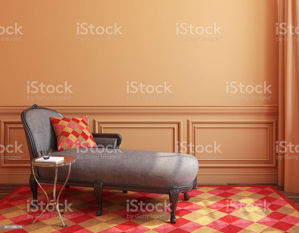 Modern interior. 3d rendering. stock photo
