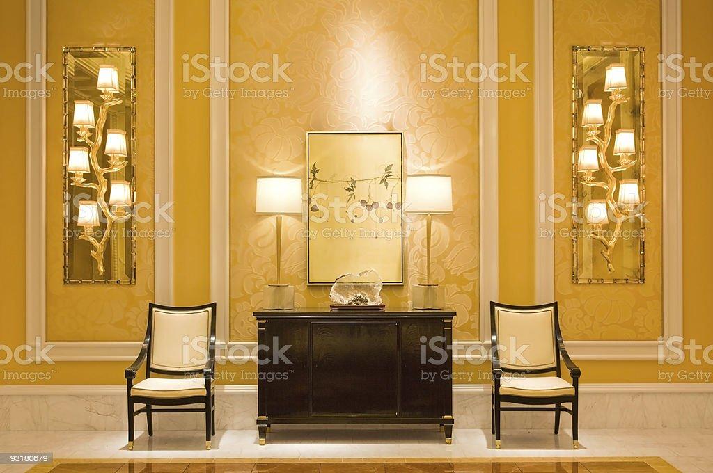 Modern interior | Hallway royalty-free stock photo