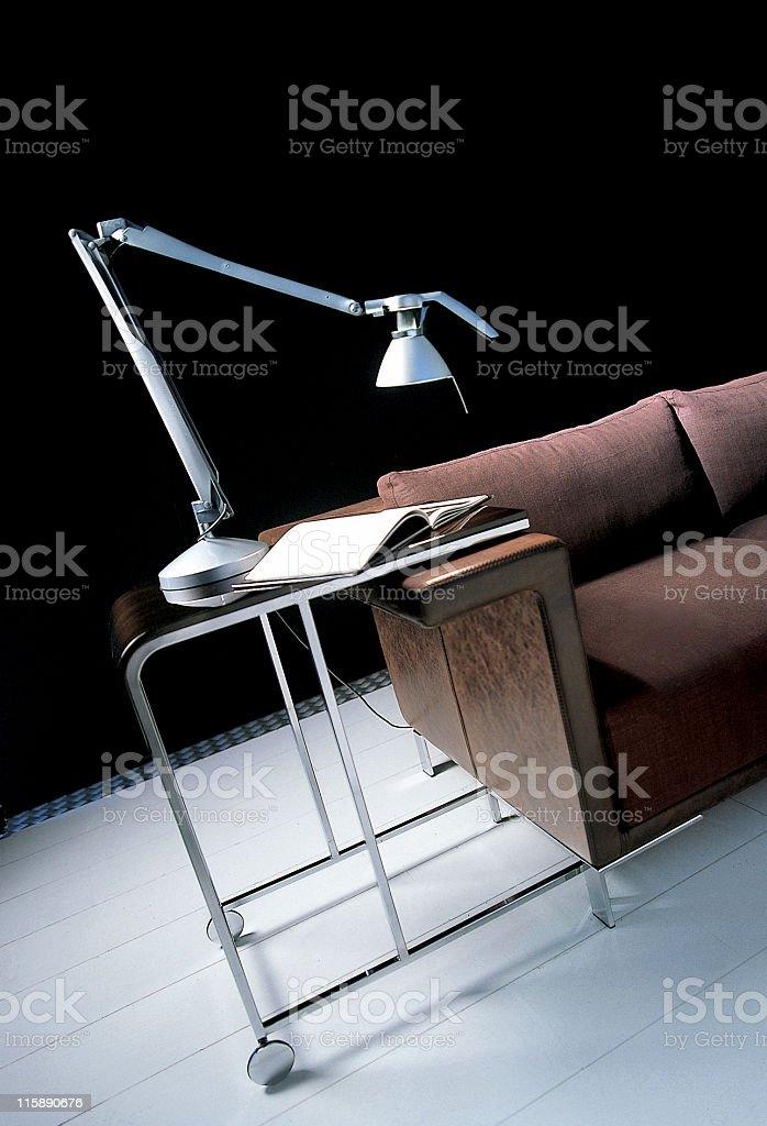 Modern interior   Living room royalty-free stock photo