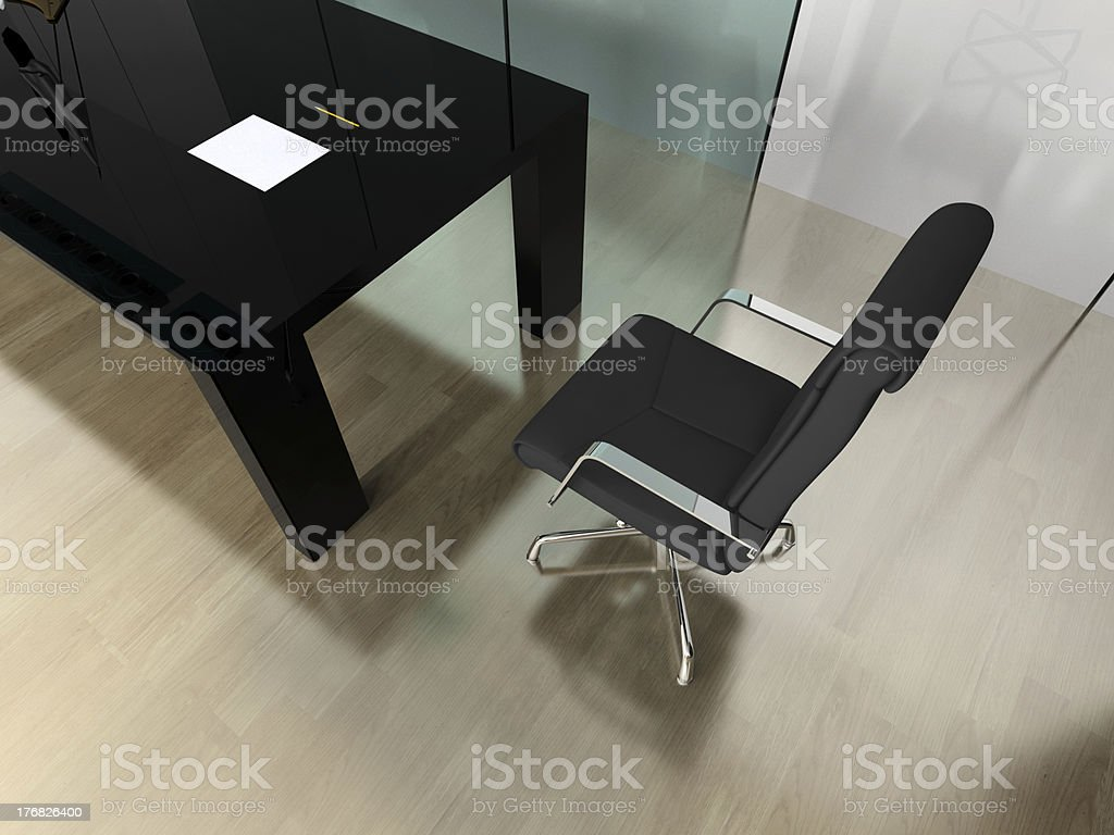 modern interior of office royalty-free stock photo
