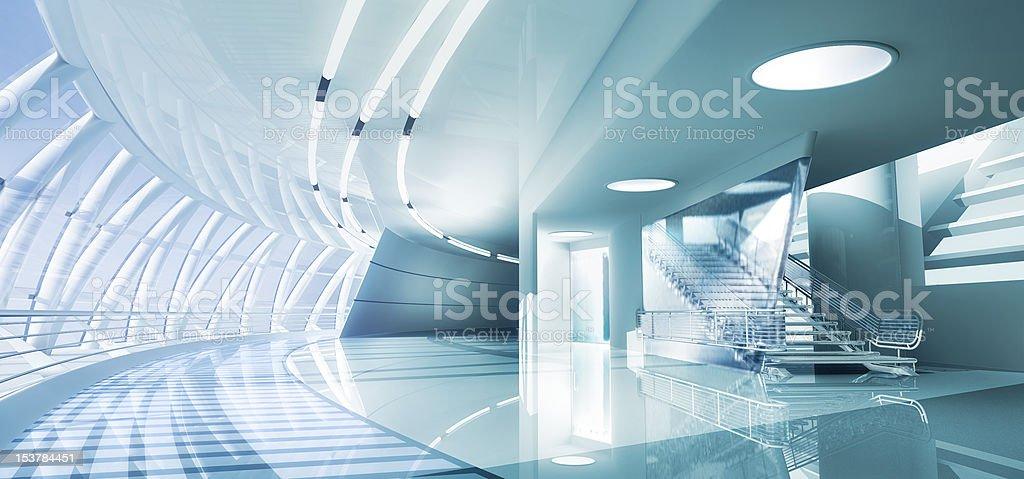 Modern Interior vector art illustration
