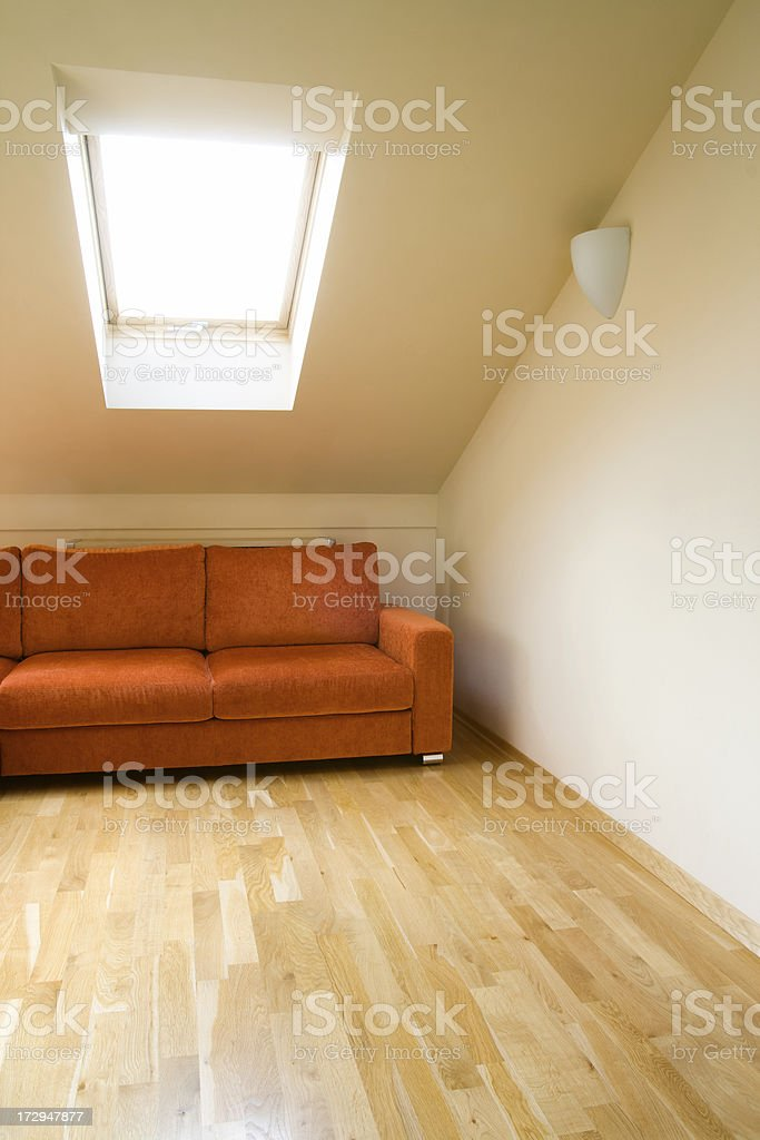 Modern interior royalty-free stock photo