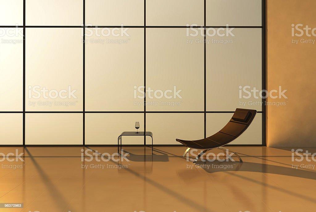 modern interior royalty-free stock photo