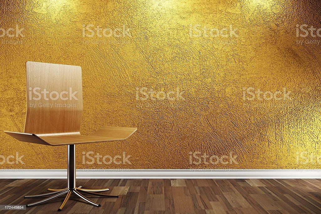 Modern Interior render (CGI) stock photo