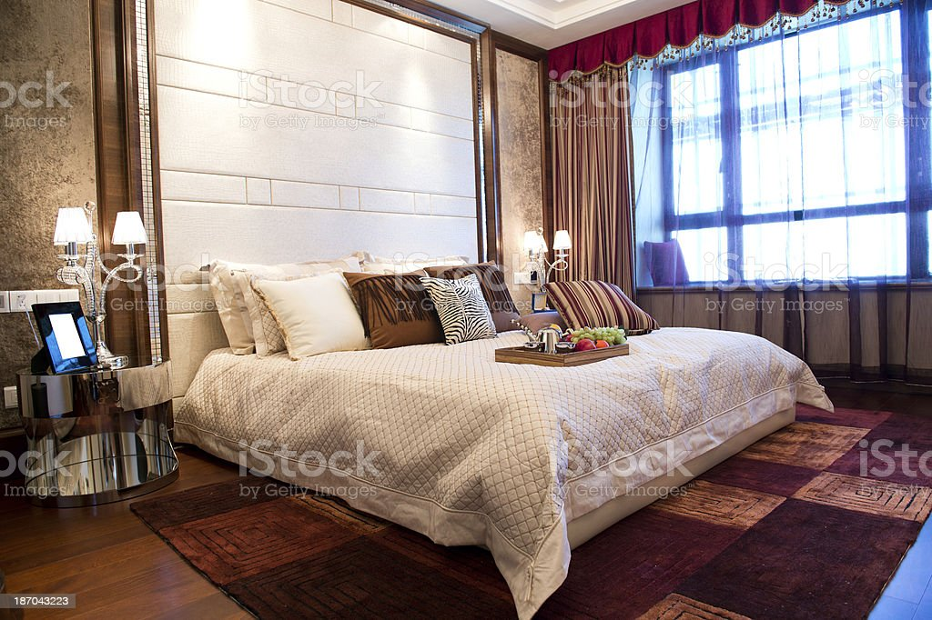 modern interior room royalty-free stock photo