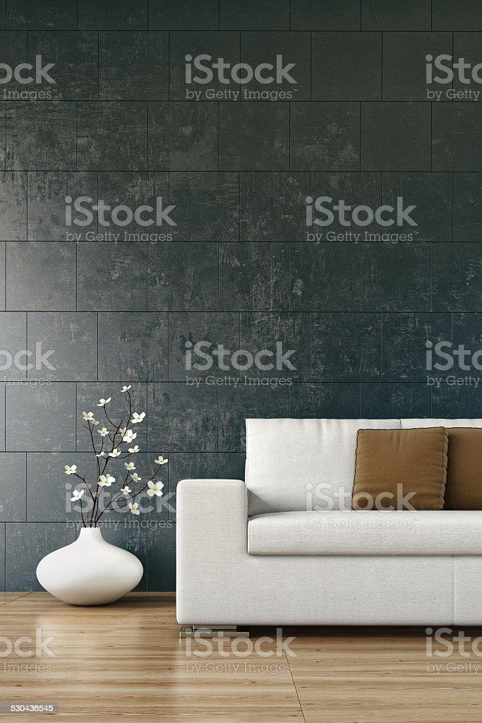 Modern interior - Stock Image stock photo