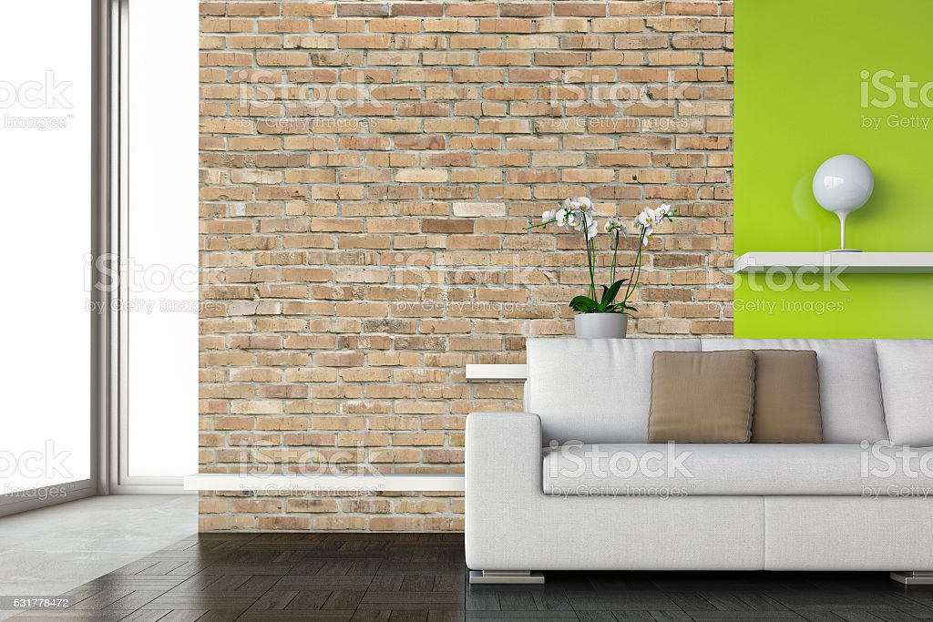 Modern interior - Stock Image stock photo