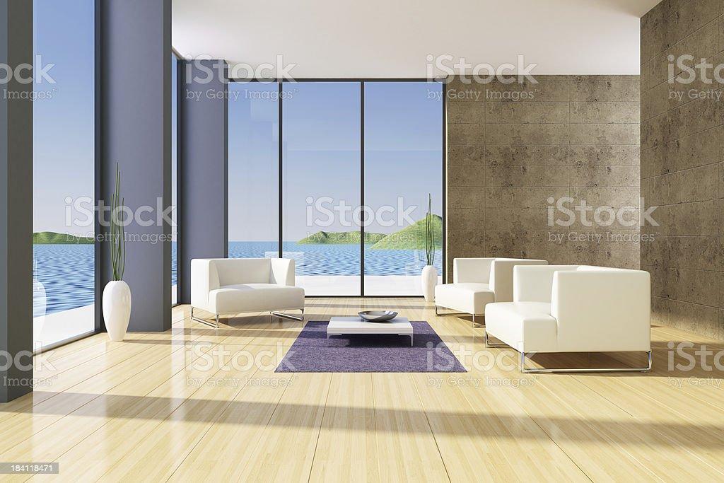 Modern Interior Summer royalty-free stock photo