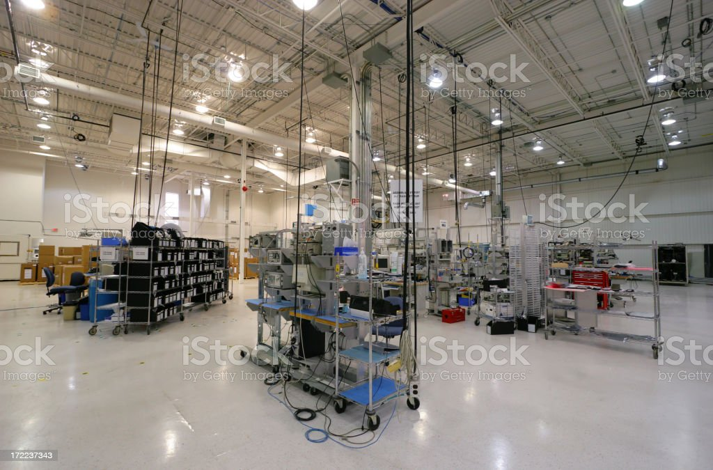 Modern Internal Industrial Space royalty-free stock photo