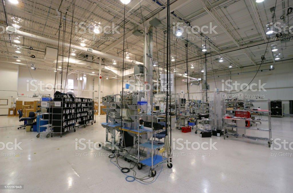 Modern Internal Industrial Space stock photo