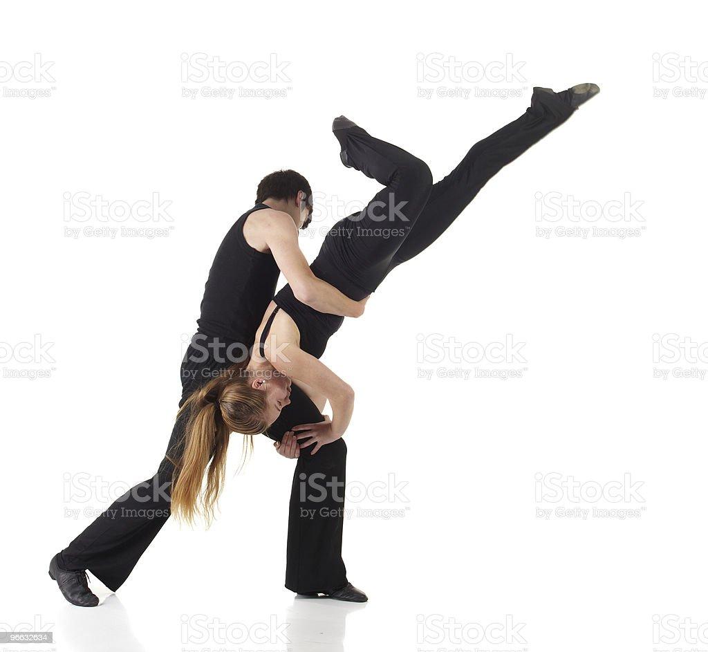 Modern Jazz dancer royalty-free stock photo