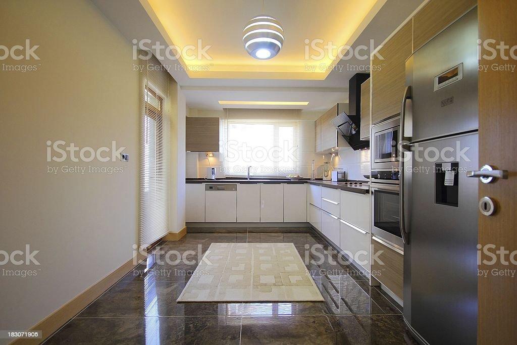 Modern Kitchen Design royalty-free stock photo