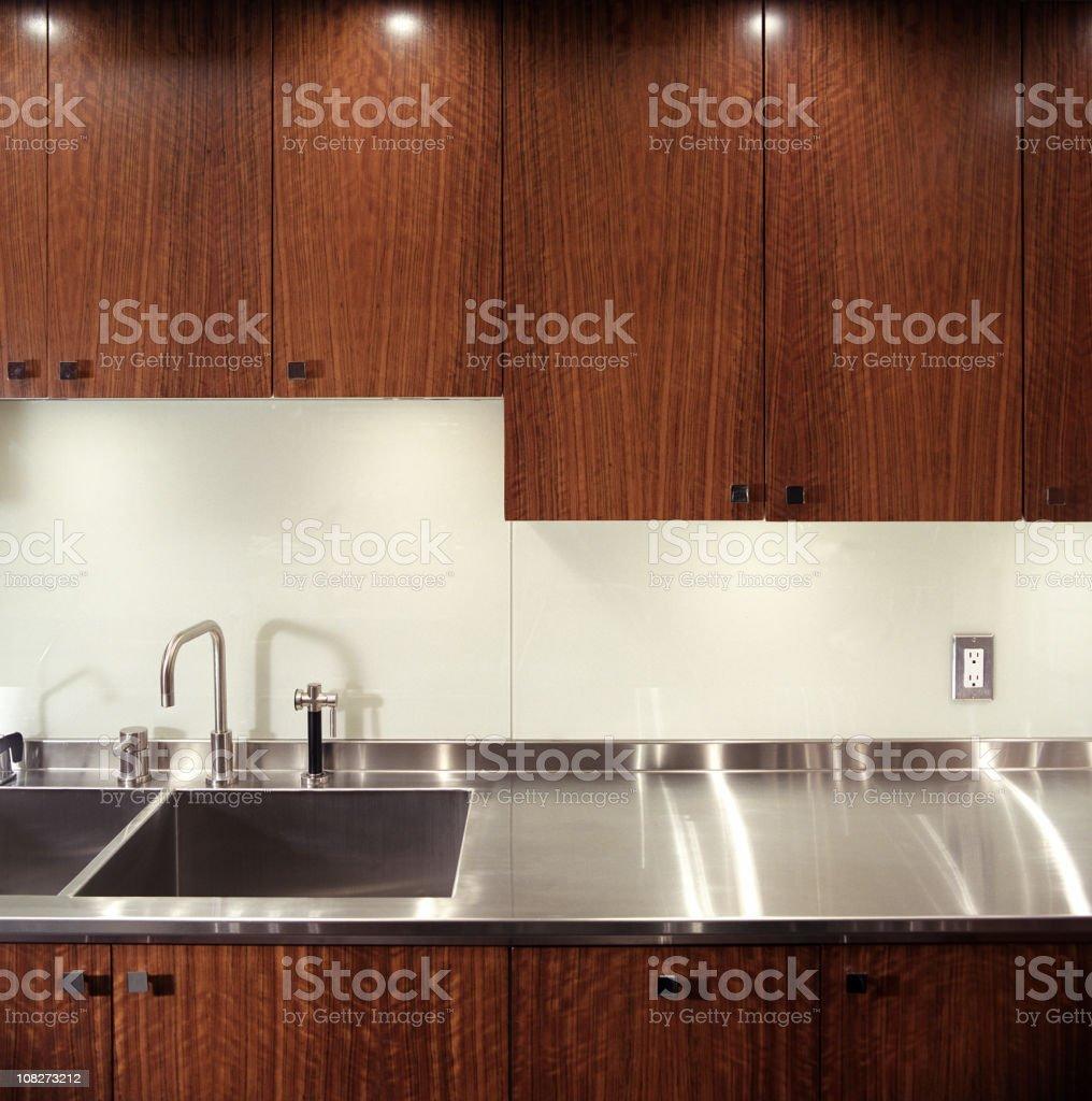 Modern Kitchen detail stock photo