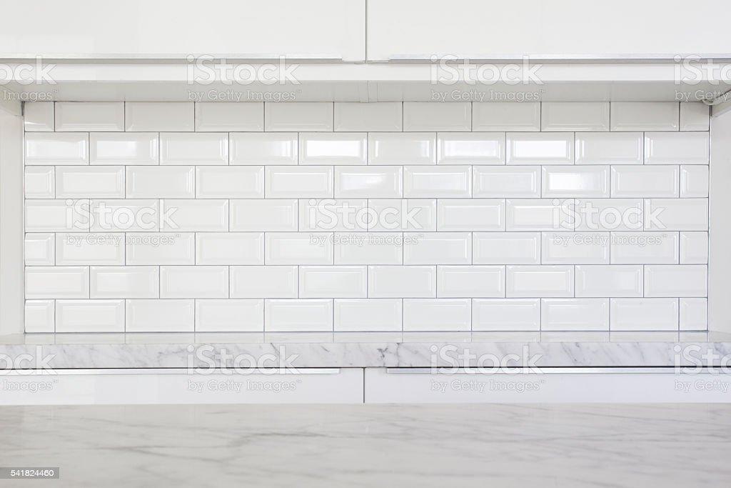 modern kitchen details stock photo