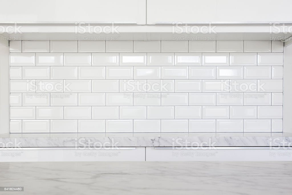 modern kitchen details stock photo